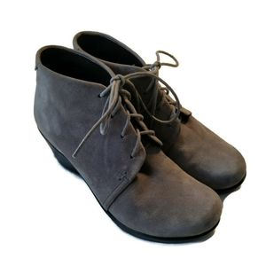 Dansko Suede Leather Boots Booties Shoes Renee 37